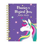 July 2019 - June 2020 TF Publishing 6.5 x 8 Medium Daily Weekly Monthly Planner, Magical Unicorn