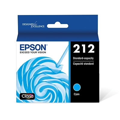 Epson 212 Cyan Standard Yield Ink Cartridge