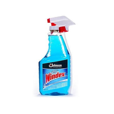 Windex Window & Glass Cleaner, Unscented, 32 Oz. (695237)