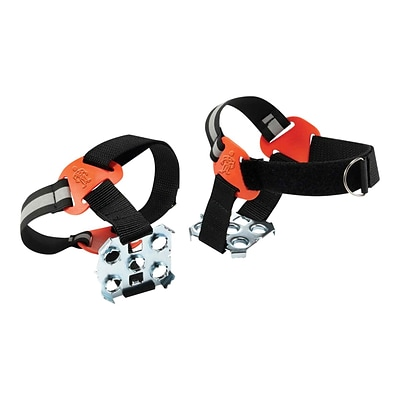 Ergodyne Trex 6315 Nylon and Steel Strap-On Heel Ice Traction Device, Size M/L (5-11), Pair (16777)