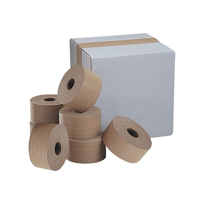 INTERTAPE Legend Reinforced Packing Tape, 3 x 375, Kraft, 8/Carton (K73109)