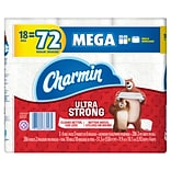 QuillPLUS Charmin Ultra Strong Toilet Paper, 18 Mega Rolls