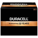 Duracell Coppertop D Alkaline Batteries, 12/Pack (MN1300)