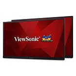 ViewSonic Dual Pack Head-Only VG2753_H2-A 27 LED Monitor, Black