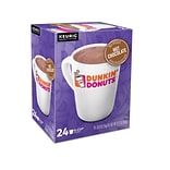 Dunkin Donuts Milk Chocolate Hot Cocoa, Keurig® K-Cup® Pods, 24/Box (611247377215)