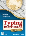 Individual Software Typing Instructor Gold for 1 User, Mac, Download