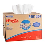 WypAll X60 Center-Pull Cloth Paper Towel, 1-Ply, 252/Box (54015)