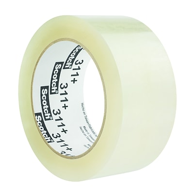 Scotch® High Tack Box Sealing Packing Tape, 1.88 x 109.36 yds., Clear, 36 Rolls (311)
