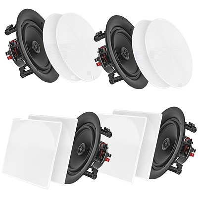 Pyle Home Pdicbt266 6.5 Bluetooth Ceiling/wall Speakers, 4 Pk