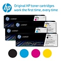 HP 131A Black/Cyan/Magenta/Yellow Original LaserJet Toner, Multi-pack (4 pack)