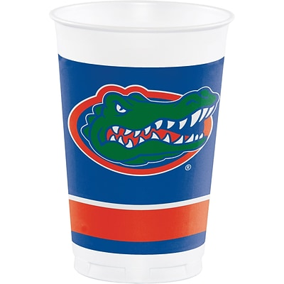 NCAA University of Florida Plastic Cups 8 pk (379698)