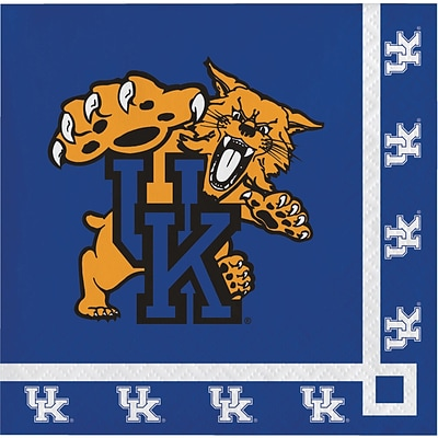 NCAA University of Kentucky Beverage Napkins 20 pk (324855)