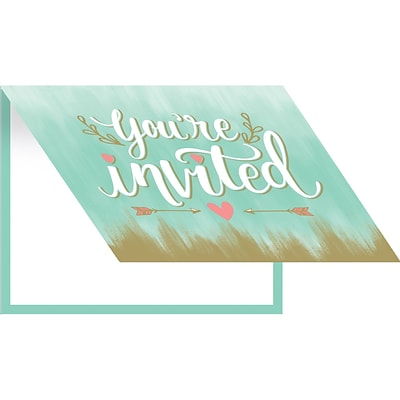 Creative Converting Mint to Be Invitations 8 pk (324684)