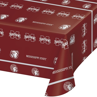 NCAA Mississippi State University Plastic Tablecloth (724094)
