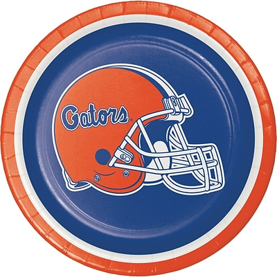 NCAA University of Florida Dessert Plates 8 pk (419698)