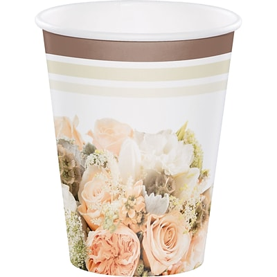 Creative Converting Rose Gold Bouquet Cups 8 pk (318160)