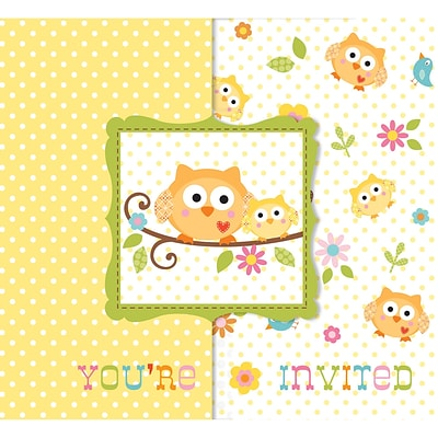 Creative Converting Happi Tree Invitations 8 pk (897128)