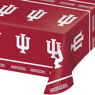 NCAA Indiana University Plastic Tablecloth (724924)