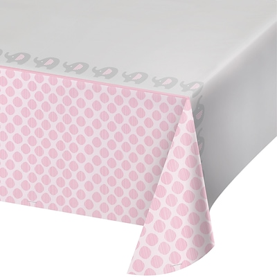 Creative Converting Little Peanut Girl Elephant Plastic Tablecloth (316946)