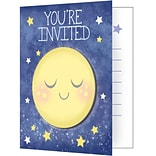 Creative Converting To the Moon and Back Invitations 8 pk (322270)