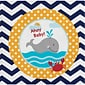 Creative Converting Ahoy Matey Nautical Baby Shower Beverage Napkins 18 pk (651226)