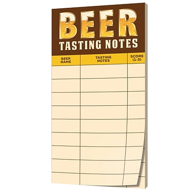 Creative Converting Cheers and Beers Beer Tasting Score Sheets (325086)