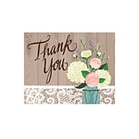 Creative Converting Rustic Wedding Thank You Notes 8 pk (891706)