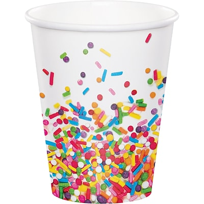 Creative Converting Confetti Sprinkles Cups 8 pk (324666)