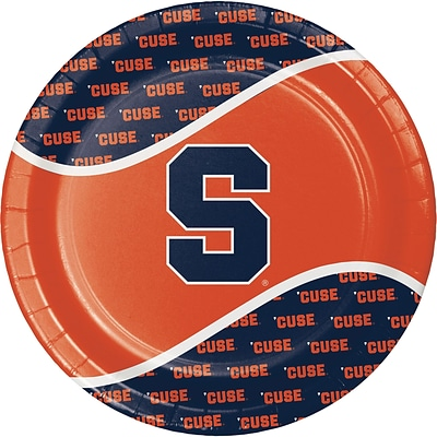NCAA Syracuse University Paper Plates 8 pk (318302)