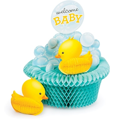 Creative Converting Rubber Duck Bubble Bath Centerpiece (267058)
