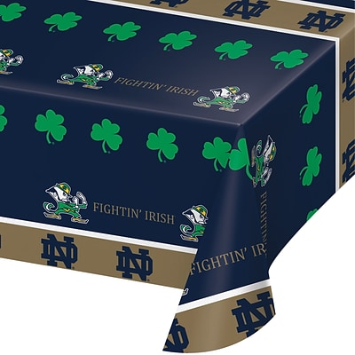 NCAA University of Notre Dame Plastic Tablecloth (724842)