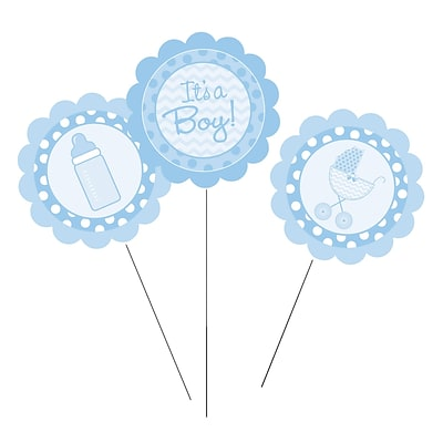 Creative Converting Its a Boy DIY Centerpiece Sticks 3 pk (260012)