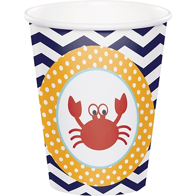 Creative Converting Ahoy Matey Nautical Cups 8 pk (377226)