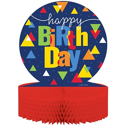 Creative Converting Geo-Pop Birthday Centerpiece (324639)