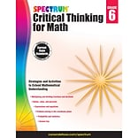 Carson-Dellosa Critical Thinking for Math, Grade 6 (CD-705118)