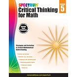 Carson-Dellosa Critical Thinking for Math, Grade 5 (CD-705117)