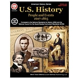 Carson-Dellosa U.S. History: People and Events 1607-1865 Resource Book, Grades 6-High School (CD-404
