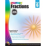 Carson-Dellosa Spectrum® Fractions, Grade 6 (CD-704513)