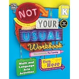 Carson-Dellosa Not Your Usual Workbook, Kindergarten (CD-704720)