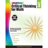 Carson-Dellosa Critical Thinking for Math, Grade 3 (CD-705115)