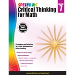 Carson-Dellosa Critical Thinking for Math, Grade 7 (CD-705119)