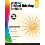 Carson-Dellosa Critical Thinking for Math, Grade 4 (CD-705116)