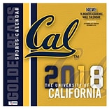 California Golden Bears 2018 12X12 Team Wall Calendar (18998012075)