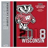 Wisconsin Badgers 2018 12X12 Team Wall Calendar (18998011833)