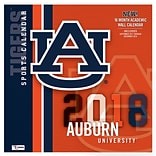 Auburn Tigers 2018 Mini Wall Calendar (18998040601)