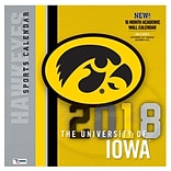 Iowa Hawkeyes 2018 Mini Wall Calendar (18998040604)