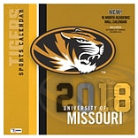 Missouri Tigers 2018 12X12 Team Wall Calendar (18998011810)