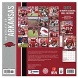 Arkansas Razorbacks 2018 12X12 Team Wall Calendar (18998011796)