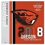 Oregon State Beavers 2018 12X12 Team Wall Calendar (18998011815)