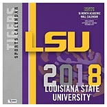 Lsu Tigers 2018 12X12 Team Wall Calendar (18998011805)